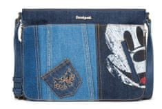 Desigual tmavě modrá crossbody kabelka Exotic Mickey Baqueira