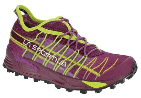 La Sportiva Mutant Woman Plum/Apple Green 37 futócipő