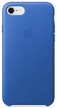 Apple usnjeni ovitek iPhone 8/7 Leather Case - Electric Blue