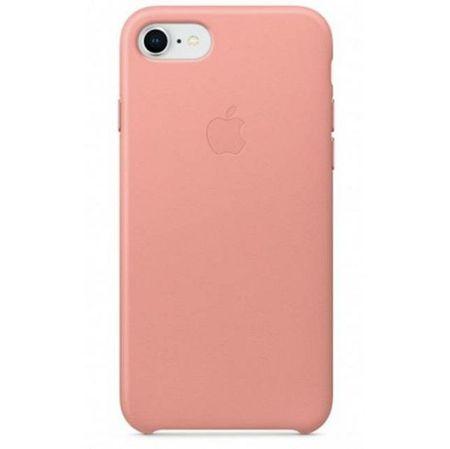 Apple usnjeni ovitek iPhone 8/7 Leather Case - Soft Pink