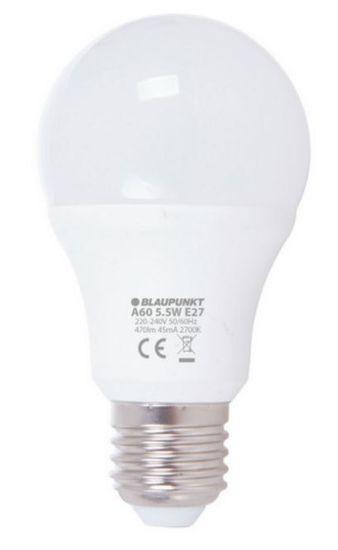 Blaupunkt LED žarnica 5,5 W, E27, 2700K (A60-12)