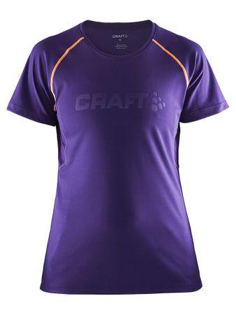 Craft ženska majica Prime SS TEE Dynasty, vijolična, S