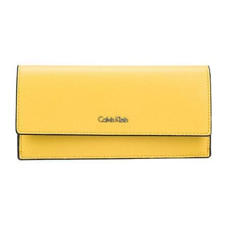 cedab76f3bb Calvin Klein Dámská peněženka Frame Slim Trifold Sunflower ...