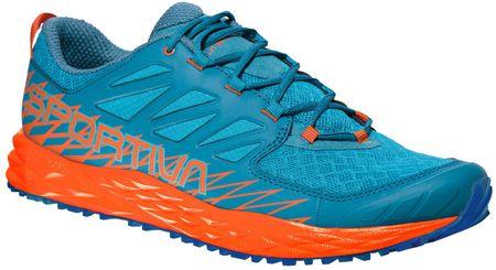 La Sportiva moški tekaški čevlji Lycan Tropic Blue/Tangerine, modro/oranžni, 42