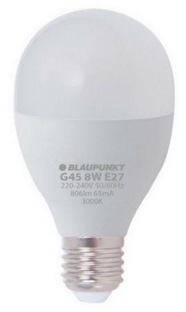 Blaupunkt LED žarnica 8 W, E27, 3000K (G45-2)