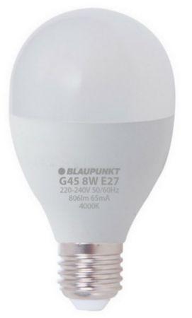 Blaupunkt LED žarnica 8 W, E27, 4000 K (G45-2)