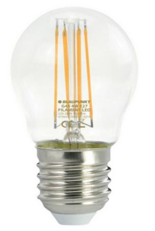Blaupunkt LED filament žarnica 4 W, E27, 2700 K (G45)