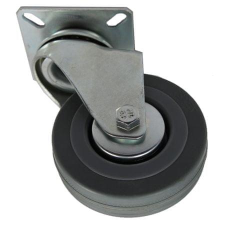 Popar stabilno transportno kolo, 75 mm, 70 kg
