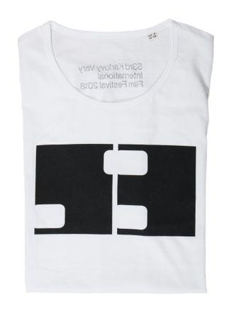 MFF Karlovy Vary pánské bílé tričko S