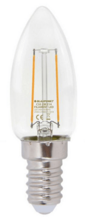 Blaupunkt LED filament žarnica 2 W, E14, 2700 K (C35)