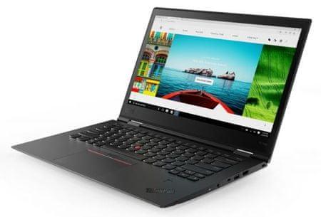 Lenovo prenosnik ThinkPad X1 Yoga 3 i7-8550U/16GB/SSD1TB/14WQHD/W10P, srebrn (20LF000TSC)
