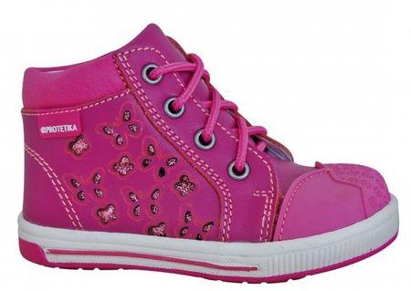 Protetika Dívčí kotníkové boty Savana - růžové 21  3f9aecade48