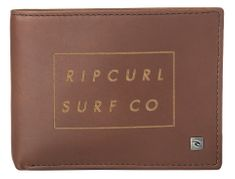 Rip Curl pánská hnědá peněženka Surf Co Rfid All Day