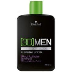 Schwarzkopf Prof. Aktivační šampon pro muže 3D (Root Activator Shampoo)