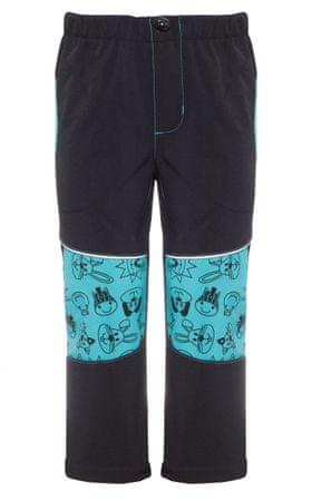 good2go chlapčenské softshellové nohavice GOOD2GO 98 čierna modrá ... a9e3b137ae5