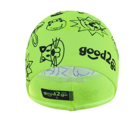 good2go unisex funkční čepice Mikro Cool Max GOOD2GO 40 - 43 žlutá