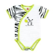 Makoma chlapčenské zavinovacie body Zebra