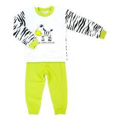 Makoma chlapecké pyžamo Zebra