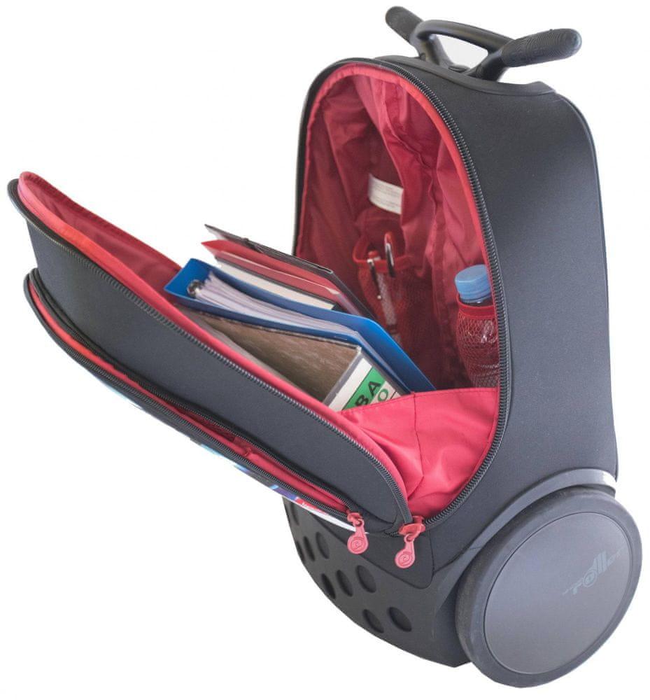 Nikidom Roller XL batoh na kolečkách Kaleido