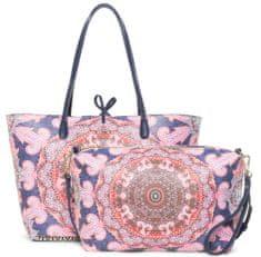 Desigual ženska torbica Afro Capri, večbarvna