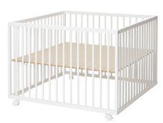 BabyDan Dřevěná ohrádka Comfort Large