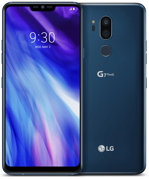 LG G7 ThinQ, New Moroccan Blue