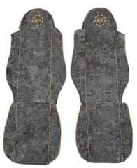 F-CORE Potahy na sedadla CS03 GD, šedé