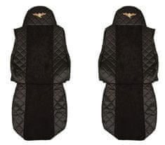 F-CORE Potahy na sedadla FX04, černé