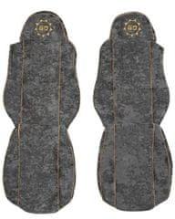 F-CORE Potahy na sedadla CS01 GD, šedé