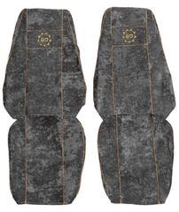 F-CORE Potahy na sedadla CS09 GD, šedé