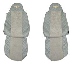 F-CORE Potahy na sedadla FX04, šedé