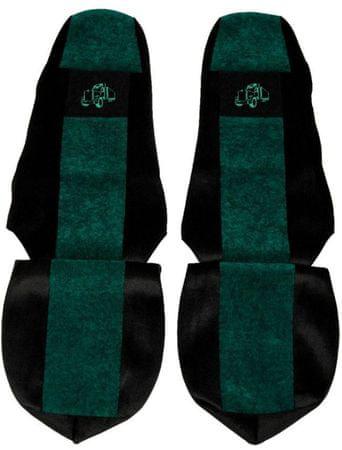 F-CORE Potahy na sedadla PS16, zelené