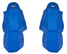 F-CORE Potahy na sedadla FX04, modré