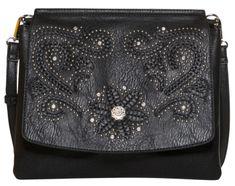Desigual torbica Dixie Amberes, črna