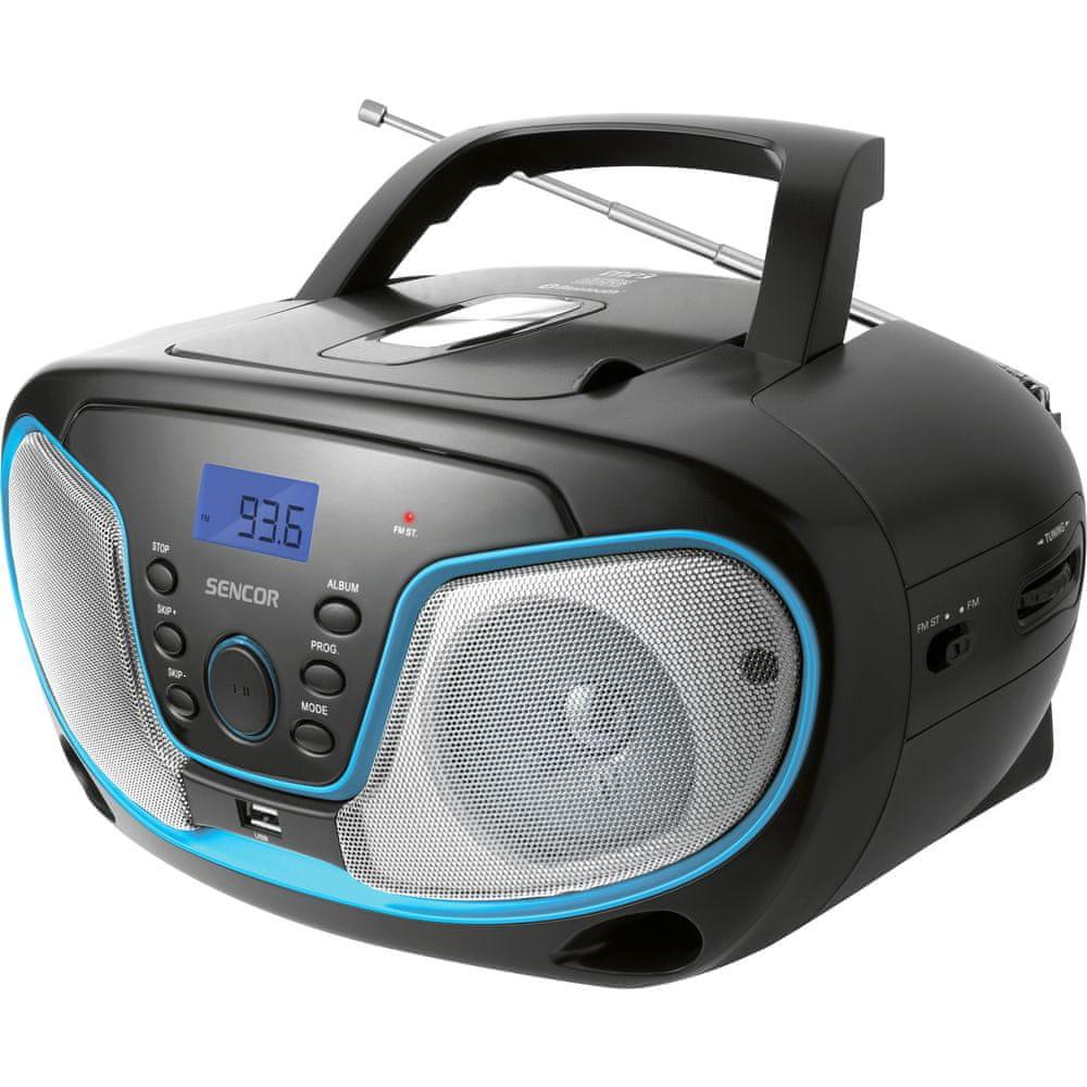 SENCOR SPT 3310, černá/modrá