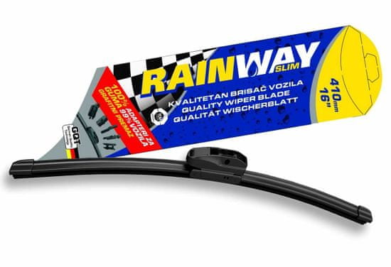 Rainway brisalec stekla slim, 410 mm - Odprta embalaža