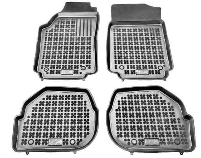 REZAW-PLAST Gumové koberce, sada 4 ks (2x přední, 2x zadní), Audi 100 1982-1994, Audi A6 1994-19