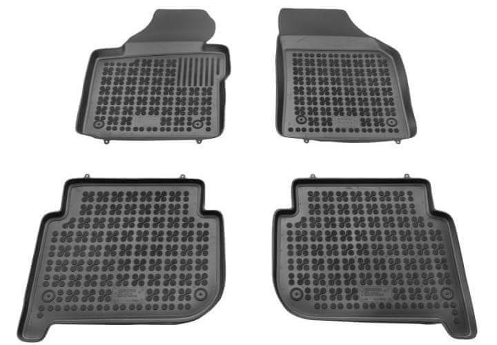 REZAW-PLAST Gumové koberce, sada 4 ks (2x přední, 2x zadní), VW Touran I a II 2003-2015