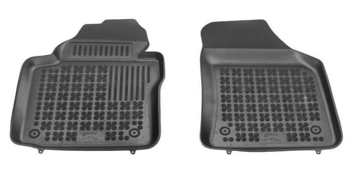 REZAW-PLAST Gumové koberce, sada 2 ks (2x přední), VW Caddy od r. 2003, VW Caddy Maxi od r. 2007