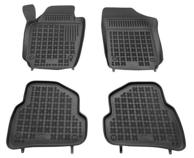 REZAW-PLAST Gumové koberce, sada 4 ks (2x přední, 2x zadní), VW Polo V od r. 2009