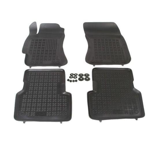 REZAW-PLAST Gumové koberce, súprava 4 ks (2x predné, 2x zadné), Subaru Forester 2002-2008