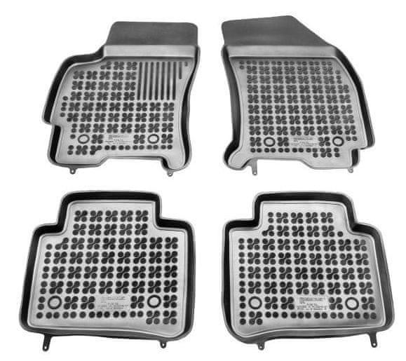 REZAW-PLAST Gumové koberce, sada 4 ks (2x přední, 2x zadní), Ford Mondeo III 2000-2007