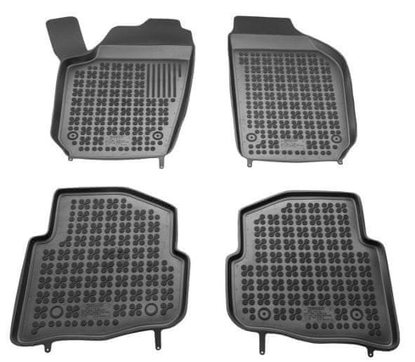 REZAW-PLAST Gumové koberce, sada 4 ks (2x přední, 2x zadní), Škoda Fabia, Seat Cordoba, Seat Ibiza, VW Polo