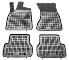 REZAW-PLAST Gumové koberce, černé, sada 4 ks (2x přední, 2x zadní), Audi A6 Sedan od r. 2011, A7 Sportback od r. 2010