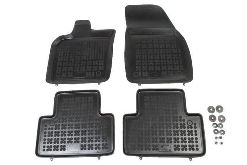 REZAW-PLAST Gumové koberce, sada 4 ks (2x přední, 2x zadní), Volvo V50 II od r. 2004