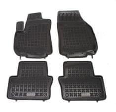 REZAW-PLAST Gumové koberce, sada 4 ks (2x přední, 2x zadní), Opel Zafira B od r. 2005