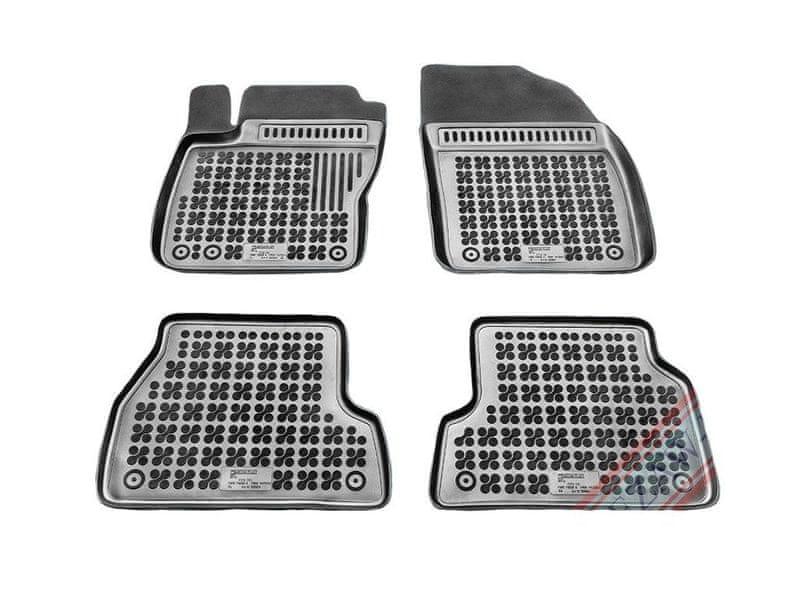 REZAW-PLAST Gumové koberce, sada 4 ks (2x přední, 2x zadní), Ford Focus II 2004-2011