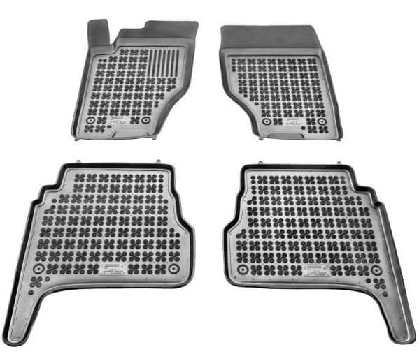 REZAW-PLAST Gumové koberce, sada 4 ks (2x přední, 2x zadní), Kia Sorento I 2003-2009