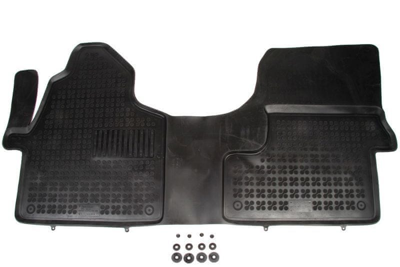 REZAW-PLAST Gumové koberce, sada 1 ks (1x spojený přední), Mercedes-Benz Sprinter II od r. 2006