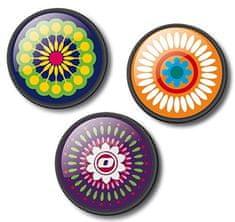 Nikidom Roller Pins Mandala komplet značk